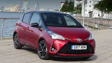 Used Toyota Yaris - front