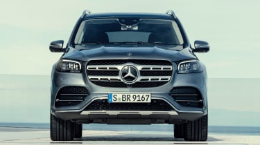 Mercedes GLS - grey full front static