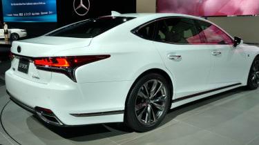Lexus LS F - New York show rear