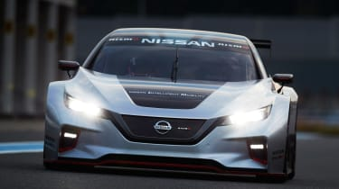 Nissan Leaf Nismo RC - full front action