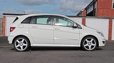 Used Mercedes B-Class - side