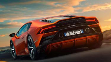 Lamborghini Huracan facelift - rear