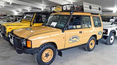 British Motor Museum - Land Rovers