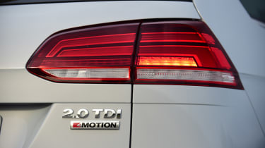 New Volkswagen Golf Estate - rear light detail