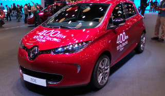 Renault Zoe - Paris front three quarter