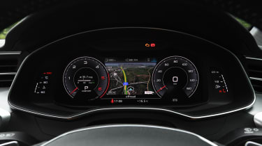 Audi A6 - dials