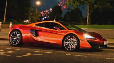 McLaren 570GT long term test final report - front corner parked