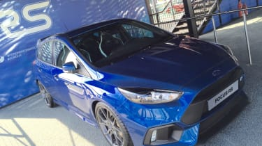 Ford Focus RS at Goodwood FoS