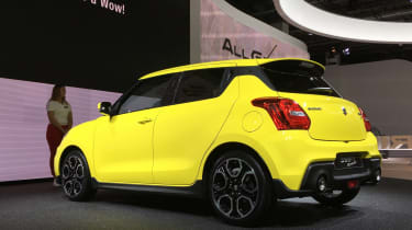 New 2018 Suzuki Swift Sport  rear