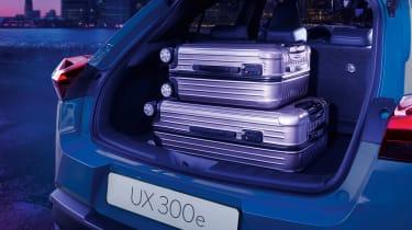 Lexus UX 300e - loaded boot