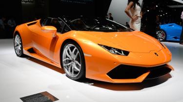 Lamborghini Huracan Spyder - front