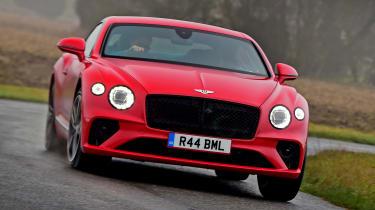 Bentley Continental GT V8 - front cornering