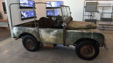 Land Rover Series restoration project