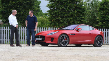 Jaguar F-Type 4-cylinder - interview