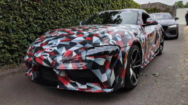 Goodwood Festival of Speed - Toyota Supra