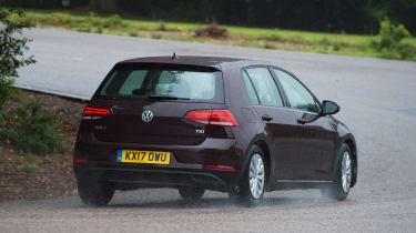 Volkswagen Golf 1.0 petrol - rear cornering