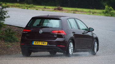 Volkswagen Golf 1.0 petrol - rear cornering