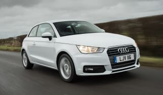 Audi A1 - front tracking
