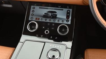 Range Rover Velar - controls