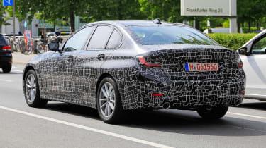 BMW 3 Series spies rear quarter