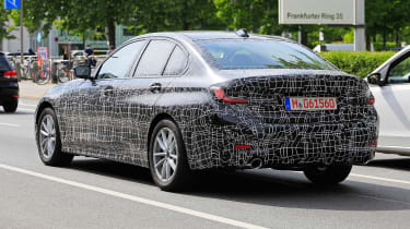 BMW 3 Series spies rear quarter