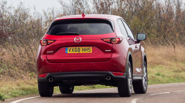 2019 Mazda CX-5 - rear cornering