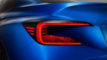 Subaru WRX STi concept rear light