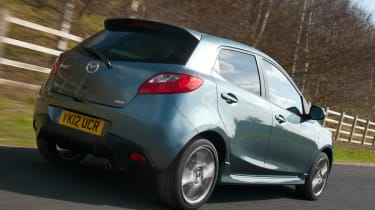 Mazda 2 Venture Edition tracking rear