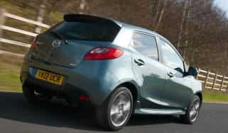 Mazda 2 Venture Edition tracking rear