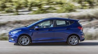 Ford Fiesta ST-Line - side