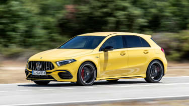Mercedes-AMG A 45 S - front/side