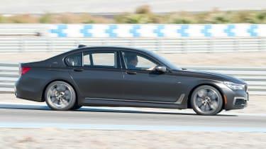 BMW 7 Series 760Li - side tracking