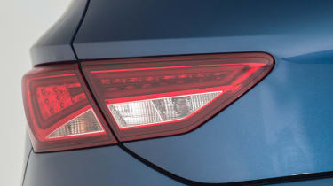 Used SEAT Leon Mk3 - rear light detail