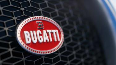 Bugatti Chiron - grille detail