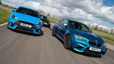 BMW M2 vs Ford Focus RS vs Audi RS3 - header