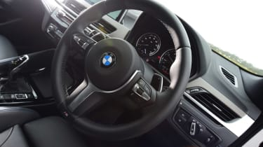 BMW X2 - steering wheel