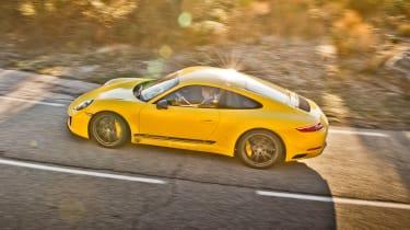 Porsche 911 Carrera T - side above
