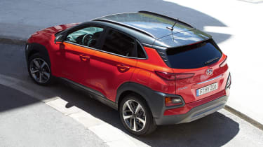 Hyundai Kona - red rear