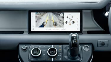 Land Rover Defender off road screen