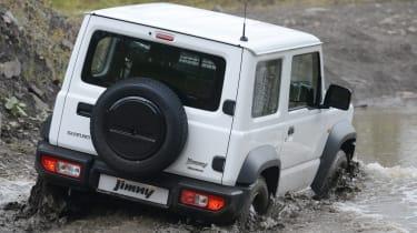 Suzuki Jimny Commercial - wading