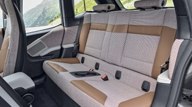 BMW i3 facelift - back seats
