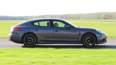 Used Porsche Panamera - side