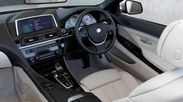BMW 6 Series Convertible interior