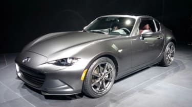 Mazda MX-5 RF - front show