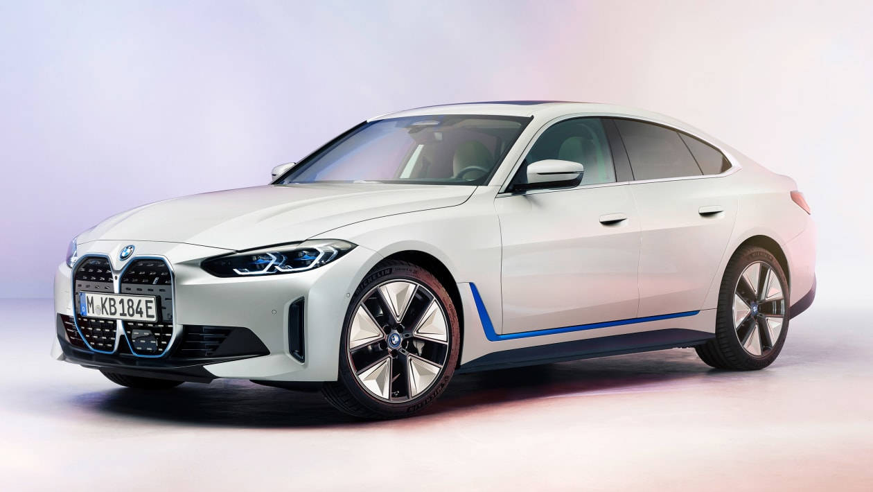 New 2021 Bmw I4 Electric Car Revealed With 367 Mile Range Auto Express