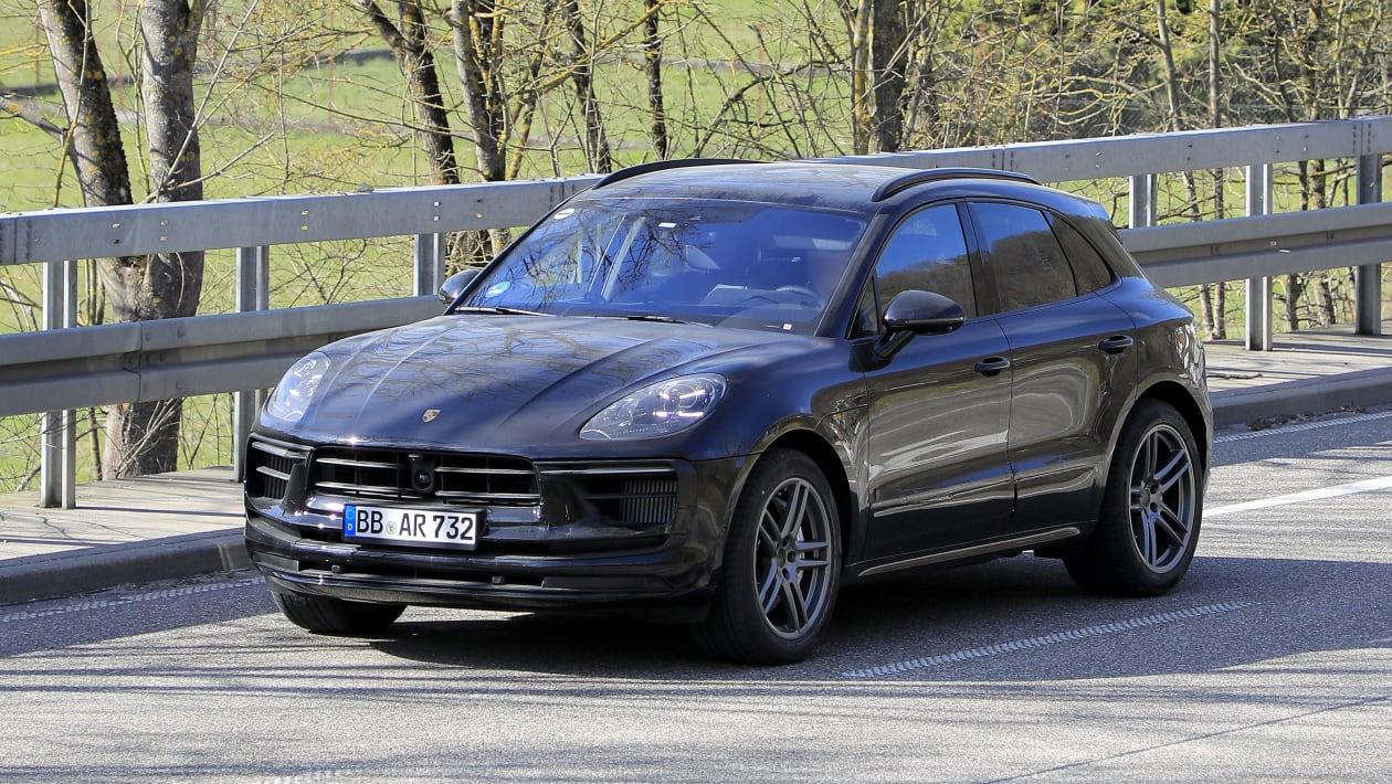 Porsche Macan Facelift spy 4