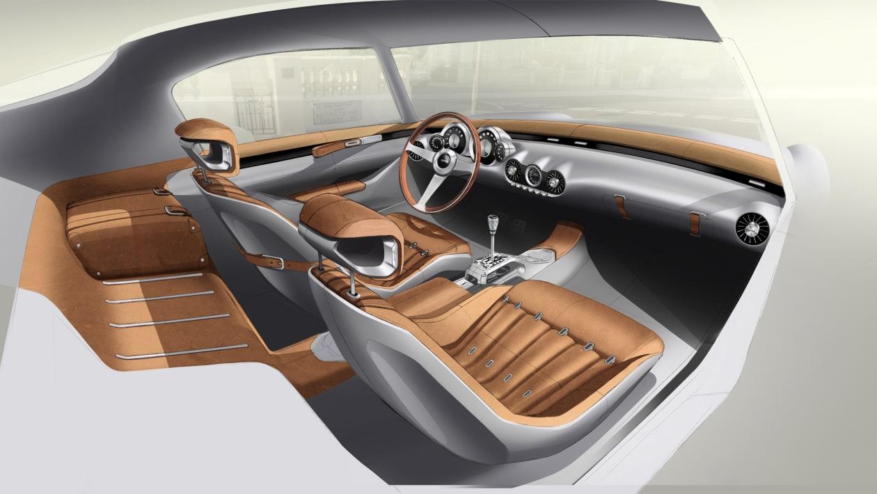 GTO Engineering Squalo interior sketch2