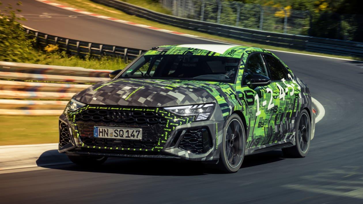 Audi RS3 2021 ring record cornering