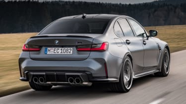BMW M3 Competition xDrive - rear