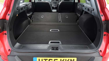 Renault Kadjar - seats down